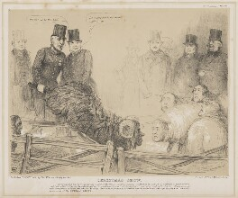 Christmas Show, by John ('HB') Doyle, printed by  General Lithographic Establishment, published by  Thomas McLean - NPG D46365
