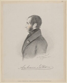 Ambrose Isted, by Richard James Lane, published by  John Mitchell, after  Alfred, Count D'Orsay - NPG D46244