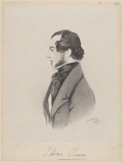 John Home Purves, by Richard James Lane, after  Alfred, Count D'Orsay - NPG D46252