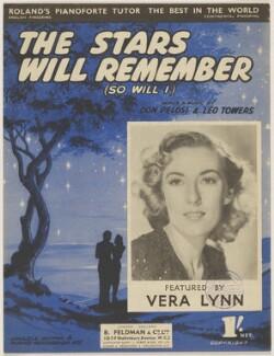 Dame Vera Lynn, published by B. Feldman & Co Ltd, after  Unknown photographer - NPG D46409