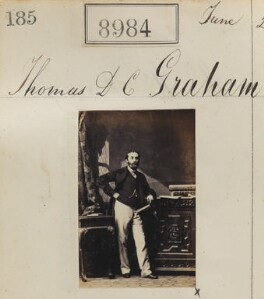 Thomas Douglas Cunningham Graham, by Camille Silvy - NPG Ax58807