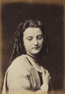 Unknown young woman, by Oscar Gustav Rejlander - NPG P2011(19)