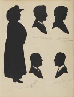E. Paul; Frank Lockwood; Frank I. Whitcroft; Sydney Benjamin; Gladys H. Ward, by Hubert Leslie - NPG D46420