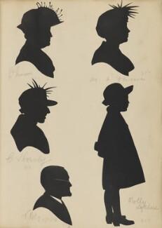 ?; ?; T. Kelly; M. A. Dunn; Molly Lefevre, by Hubert Leslie - NPG D46426