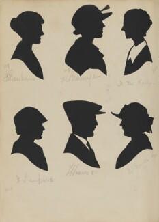 F. Beacham; J. Lampard; L. Heanes; M. Brannigan; B.J. Barnes; F.M. Kelly, by Hubert Leslie - NPG D46427