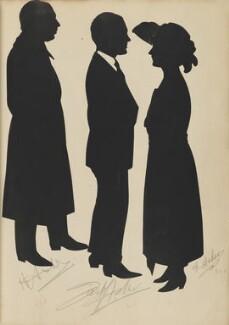 H. Asher; Jack? Asher?; E. Asher, by Hubert Leslie - NPG D46430