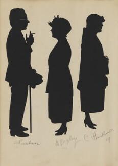 A. Rosenbawm; M. Bagley; C. Huskisson, by Hubert Leslie - NPG D46445