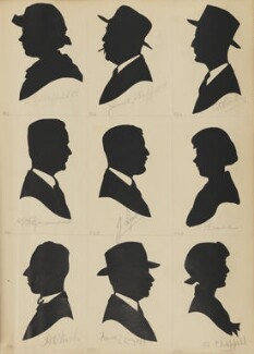 B.G. Sheffield; H.A. Finch; F. Fitzmaurice; James Sheffield; Frank Lincoln Linzell; ?; H. Chappell; ?; C.C. Bailey, by Hubert Leslie - NPG D46450
