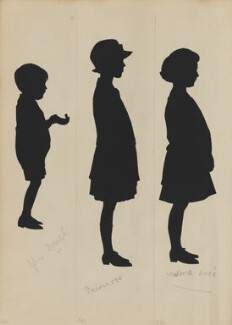 John Sca?; Primrose; Victoria Lorie, by Hubert Leslie - NPG D46451