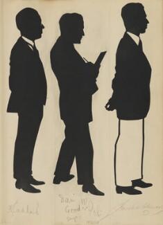 H.J. Sadler; 'Poli'; Mr Coleman, by Hubert Leslie - NPG D46530