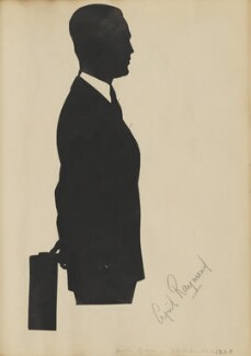 Cyril Raymond, by Hubert Leslie - NPG D46564