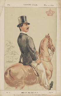 Prince Francis, Duke of Teck ('Men of the Day. No. 6.), by Alfred Thompson (Atn) - NPG D45752
