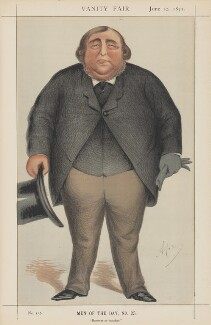 The Tichborne Claimant ('Men of the Day, No. 25.'), by Carlo Pellegrini - NPG D45754