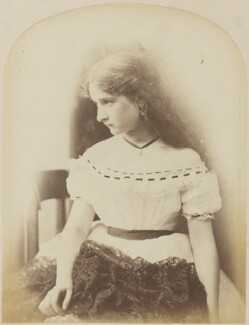 Unknown young woman, by Oscar Gustav Rejlander - NPG P2011(27)