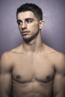 Max Whitlock, by Graham Hughes - NPG x199374