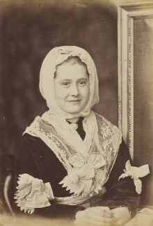 'Youngest Constable a la great-grandmamma' (Miss Constable), by Oscar Gustav Rejlander - NPG P2011(33)