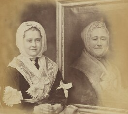 'Youngest Constable a la great-grandmamma' (Miss Constable), by Oscar Gustav Rejlander - NPG P2011(34)