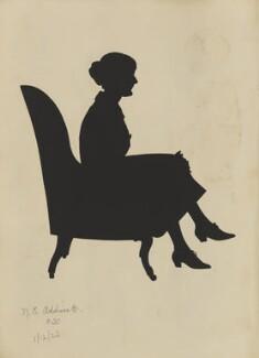 Nora Emily Falkner (née Addiscott), by Hubert Leslie - NPG D46622