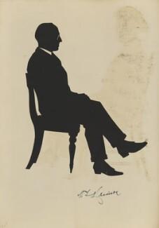 Mr Harrison, by Hubert Leslie - NPG D46632