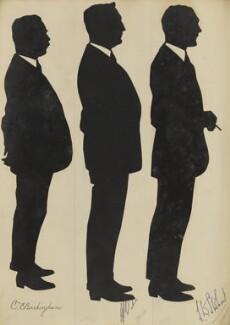 C.E. Buckingham; Mr Baker; J.B. Stobart, by Hubert Leslie - NPG D46636