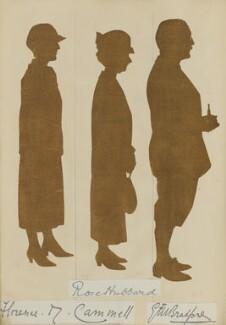 'Mr and Mrs Longman's Golden Wedding, April 28 1924' (Florence M. Cammell; Rose Hubbard; E.?. Bolton), by Hubert Leslie - NPG D46640
