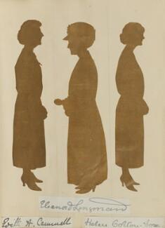 'Mr and Mrs Longman's Golden Wedding, April 28 1924' (Edith A. Cammell; Eleanor D. Longman; Helen Colton-Fox), by Hubert Leslie - NPG D46641