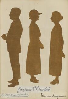 'Mr and Mrs Longman's Golden Wedding, April 28 1924' (William Hamilton Bradford; Georgiana E. Bradford; Frances Longman), by Hubert Leslie - NPG D46642