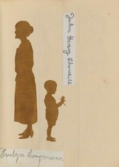 'Mr and Mrs Longman's Golden Wedding, April 28 1924' (Evelyn Longman; John Henry Churchill), by Hubert Leslie - NPG D46643