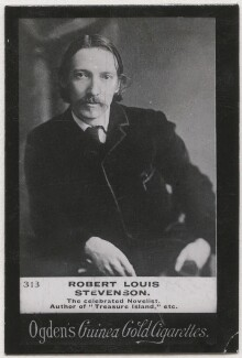 Robert Louis Stevenson, published by Ogden's, after  James Notman - NPG x196201