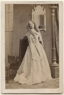Caroline Heath as Fiordelisa in 'The Fool's Revenge', by Camille Silvy - NPG x196206