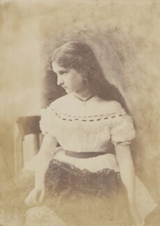 Unknown young woman, by Oscar Gustav Rejlander - NPG P2011(47)