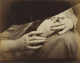 'Study of Hands', by Oscar Gustav Rejlander - NPG P2011(48)
