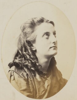 'Prayer' (Unknown young woman), by Oscar Gustav Rejlander - NPG P2011(52c)