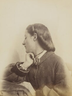 Unknown young woman, by Oscar Gustav Rejlander - NPG P2011(53)
