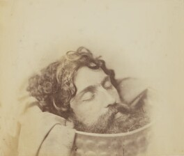'Study of the Head of John the Baptist in a Charger', by Oscar Gustav Rejlander - NPG P2011(62)