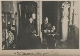 Mrs Kavanagh; Miss Jervis, by John Chester Jervis - NPG x196204