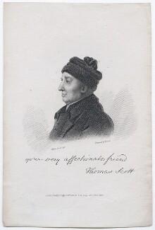 Thomas Scott, by William Bond, published by  L.B. Seeley, after  Laurence Joseph Cossé - NPG D45778