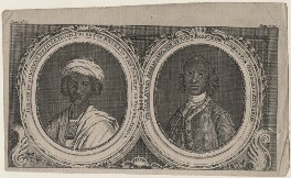Ayuba Suleiman Diallo (Job ben Solomon); William Ansah Sessarakoo, published by Gentleman's Magazine, after  William Hoare, and after  Gabriel Mathias - NPG D45779