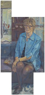 Dame Sally Davies, by Daphne Todd, 2016 - NPG  - © National Portrait Gallery, London
