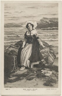 Gertie Millar in 'L'Entente Cordiale', by Foulsham & Banfield, published by  Rotary Photographic Co Ltd - NPG x196313