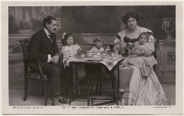 'Mr & Mrs Kennerley Rumford & Family', by Foulsham & Banfield, published by  Rotary Photographic Co Ltd - NPG x196318