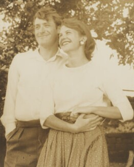 Ted Hughes; Sylvia Plath, by Harry Ogden - NPG P2012