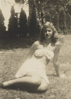 Sylvia Plath, by Unknown photographer - NPG P2013