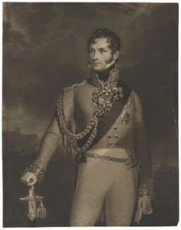 Leopold I, King of the Belgians, by Henry Edward Dawe, after  George Dawe - NPG D45791
