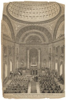 The Confirmation of Prince Frederick and Princess Alexandra at the Royal Chapel, Copenhagen on 19th October 1860, after Unknown artist - NPG D45797