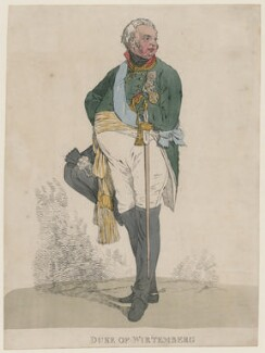 Louis, Duke of Württemberg, by Denis Dighton - NPG D47061