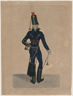 An Officer of the 7th Lt Dragoons, by Robert Dighton Jr - NPG D47072