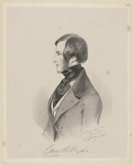 George John Frederick Sackville-West, Viscount Cantelupe, by Richard James Lane, after  Alfred, Count D'Orsay - NPG D46257