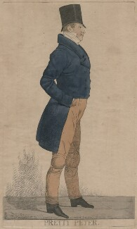 'Pretty Peter', by and published by Richard Dighton - NPG D47107