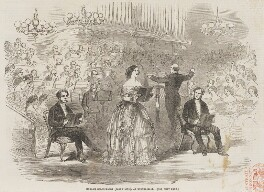 'Madame Goldschmidt (Jenny Lind) at Exeter-Hall', in Mendelssohn's 'Elijah', published by Illustrated London News - NPG D45843